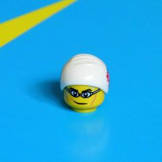 A LEGO Swimmer at the Olympics