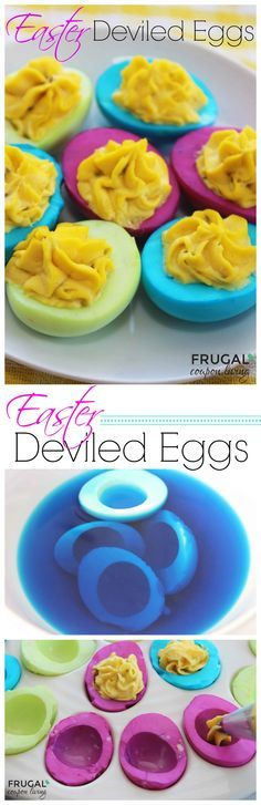 1000 Ideas About Colored Deviled Eggs On Pinterest