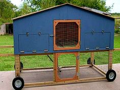 Chicken tractor, for my friends garden.  What a way to really look good and have a easy way to get the eggs!