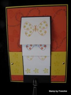 Stamp & Scrap with Frenchie: waterfall card video