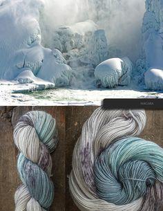 Grandma Craft Tips; How to understand crochet basics Crochet Yarn, Knitting Yarn, Grandma Crafts, Yarn Color Combinations, Spinning Wool, Yarn Inspiration, Yarn Stash, Crochet Basics, Hand Dyed Yarn