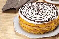 Mil Folhas Profiteroles, Eclairs, My Recipes, Favorite Recipes, Portuguese Recipes, Portuguese Food, Small Desserts, Sweet Cakes, Something Sweet