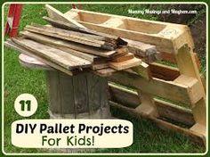 Image result for pallet furniture children