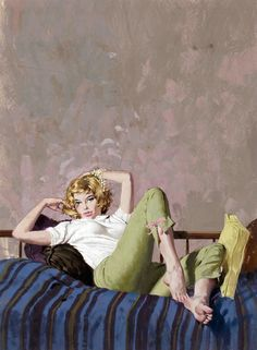 book cover by Robert McGinnis