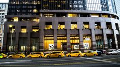 Downtown Los Angeles Yellow Cabs - From our tour https://friendlylocalguides.com/los-angeles/tours/los-angeles-city-tour #downtown #yellow #cab #california #travel #traveler #winter time #la #california #visit #los angeles #usa #city #friendlylocalguides