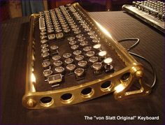 I am so going to build this one day. Anyone still have a clicky keyboard?