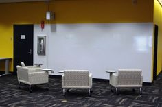 Whiteboard Collaboration Wall in University of Washington Research Commons