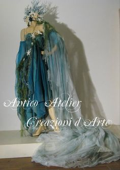 Antico Atelier Creations   faery dress