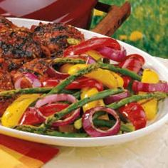 Special Grilled Veggies these really are special. go great with the chili sauce chicken