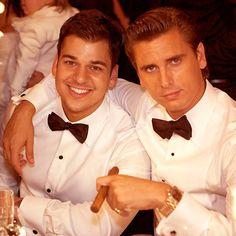 Robert Kardashian and Scott Disick