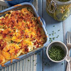 Cheesy, smoky, and savory—all of our favorite flavors come to play in Chipotle Scalloped Potatoes.