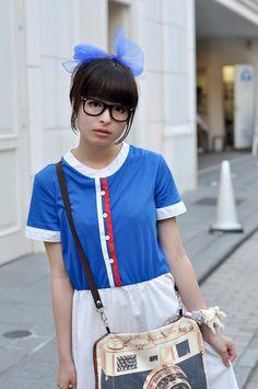 ストリートスナップ [きゃりー]   BUNKAYA ZAKKATEN, THANK YOU MART, used   原宿   2010年07月07日   Fashionsnap.com