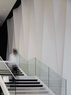 Feature Walls in Atriums with stairs | Gallery of Pleats.M / Hironaka Ogawa & Associates - 9 | Feature Walls ...