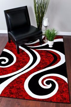 Beautiful abstract contemporary area rug, that will transform your decor instantly. You will love the quality, it is soft to touch, warm, and plushy. The color combinations and design are easy to blend with any type of furniture and wall paintings. This rug comes in the following sizes: 2x4, 2x8, 4x5, 5x8, 8x11 and 9x12