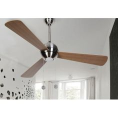 Ventilador de Techo con regulador de pared y luz FAN 57