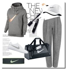 """Sport Time"" by aldina-dinka ❤ liked on Polyvore featuring NIKE and Acne Studios"
