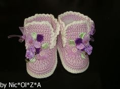 Newborn BABY Girl Handmade Crochet FLORAL от CrochetCafeNicOlZA