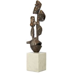 "Abstract Bronze Sculpture by Dimitri Hadzi ""Costor I"""