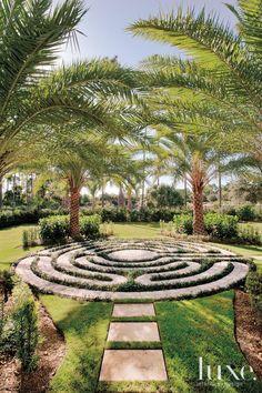 Stone Garden Labyrinth