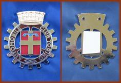 LANCIA ALFA FIAT EPOCA - STEMMA AUTOMOBILE CLUB TORINO LOGO BADGE EMBLEM