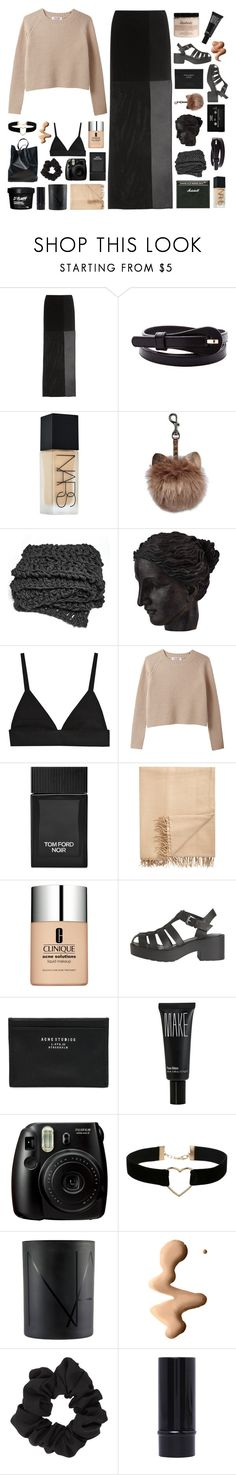 """""""♡ happy birthday to me!"""" by never-gxnna-change ❤ liked on Polyvore featuring Maison Margiela, NARS Cosmetics, Ren-Wil, Tom Ford, Armand Diradourian, Clinique, Windsor Smith, Acne Studios, Make and Fujifilm"""