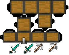 Minecraft Chest Cubeecraft