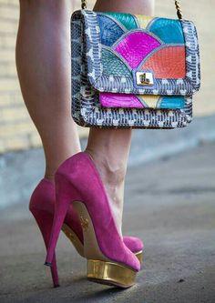 #heels #shoes #purse