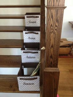 Thirty One Gifts, Stairway clutter solution! Your Way Junior Cube! Join my FB group, just click the pic!
