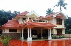 Kerala house design plans architecture luxury plans photos n Bungalow Style House, Bungalow House Plans, Modern Bungalow, Dream House Plans, Modern House Plans, Bungalow Homes, House Floor Design, Modern House Design, Indian House Plans