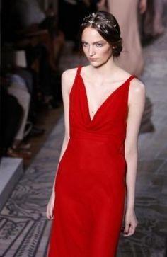 Valentino Paris Haute Couture A/I 2011/12 - Abito rosso Valentino