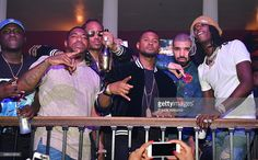 Zoey Dollaz, DJ Holiday, Future, Usher, Drake and Young Thug attend the Summer Sixteen Concert After Party at The Mansion Elan on August 27, 2016 in Atlanta, Georgia.