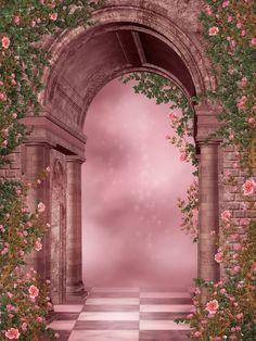 Romantic Fantasy Aesthetic Background