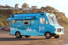 San Diego, California, home of this funny little yeti ice cream van, and the start of our trip up the California coast.