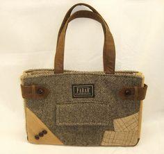 Et hop, dans mon sac !: L'art de recycler les vieilles vestes en tweed et autres lainages...