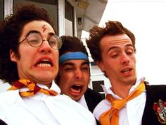 Darren Criss, Joey Richter, Brian Holden... I don't even know. This could be one of the funniest pictures on the planet.