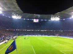 #HSV Arena - #Volksparkstadion Hamburg  (Fußball, #Bundesliga)