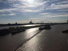 Ingrid Dijkstra #synchroonkijken #synchroneyes Dag 4: uiterWAARDEn ;-) - 'Ruimte voor de Rivier', Nijmegen