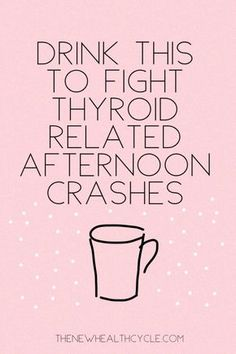 As natural as it gets for that extra boost in the afternoon that may be thyroid related. Try this natural remedy if you feel tired and trying to stay away from unhealthy caffeinated drinks. Thyroid Diet, Thyroid Health, Thyroid Issues, Home Remedies, Natural Remedies, Herbal Remedies, Lotion, Different Types Of Arthritis, Thyroid Problems
