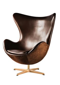 The stylish Egg Chair Loungechair Fabric was created by Arne Jacobsen for the Danish manufacturer Fritz Hansen.Arne Jacobsen was a prominent architect and furni Eames, Fritz Hansen, Egg Chair, Sofa Chair, Swivel Chair, Chair Cushions, Arne Jacobsen Chair, Light Design, Product Design