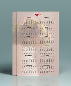 Plantillas de calendario de bolsillo 2015
