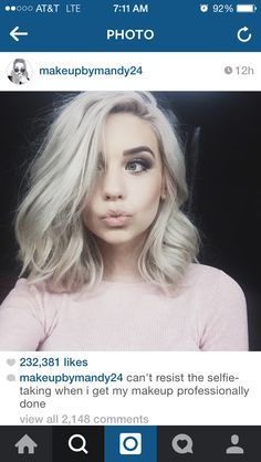 really want my hair like hers's but with the current pastel pink color that she has right now