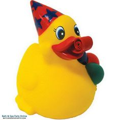 Rubber Duck Toy: Party Duck Key Chain
