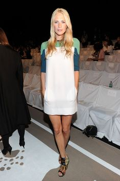 Poppy Delevingne Photo - Diane Von Furstenberg - Front Row - Spring 2012 Mercedes-Benz Fashion Week