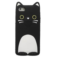 Cute Cartoon Animal Lovers Sister Cat Soft Silicone skin Case for iphone 5 5S 5c | eBay
