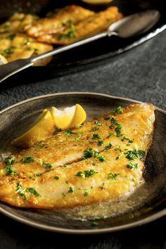 recette de michel roth - terroirs de chefs - sole meunière