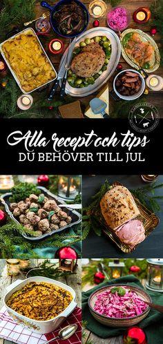 Alla recept du behöver till jul