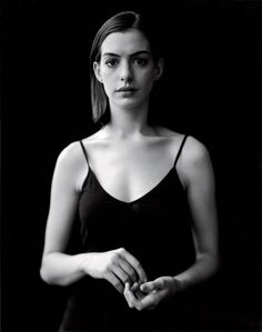 Anne Hathaway.  Photo by Andrea Modica for Newsweek