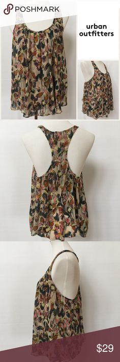 Selling this Urban Outfitters Kimchi Blue Floral Tank on Poshmark! My username is: dcgirl04. #shopmycloset #poshmark #fashion #shopping #style #forsale #Urban Outfitters #Tops