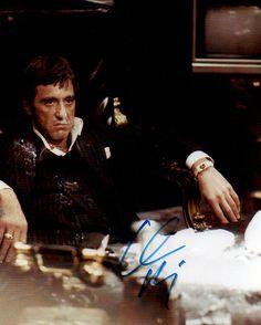 Hollywood Legend Al Pacino Autograph Hand Signed Scarface Photo COA