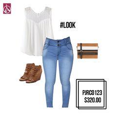 #OutFit #Estilo #Moda #Tendencia #Glamour #Mujer www.paris-jeans.com